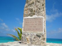 Monument honoring those lost at sea