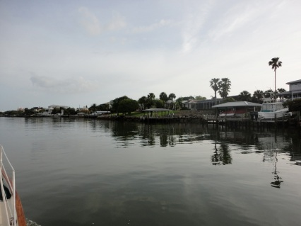 Houses along New Smyrna Beach
